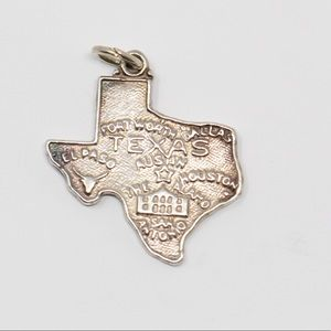 VINTAGE Sterling TEXAS Cities Souvenir Charm